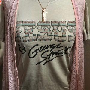 Jesus & George Strait Tee